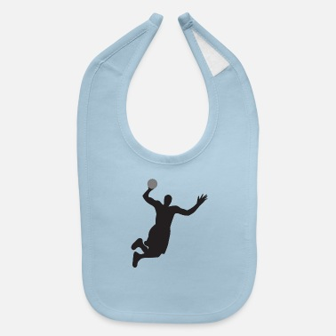 Dunking Slam Dunk HD Design - Baby Bib