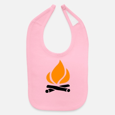 Occasion Campfire. cool gift for any occasion. - Baby Bib