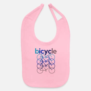 Bicyclette Bicycle Bicyclette Biker Cyclist Cyclist - Baby Bib