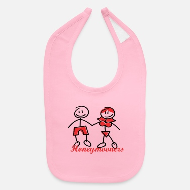 Honeymoon honeymooners (wedding, honeymoon) - Baby Bib