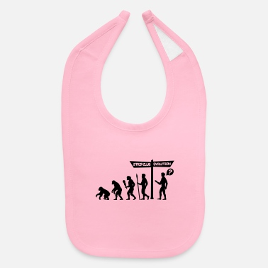 stripclub evolution - Baby Bib
