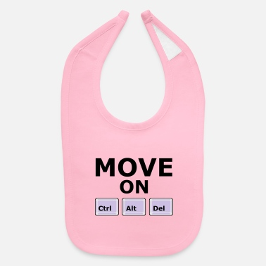 Move MOVE ON - Baby Bib