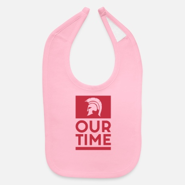 Spartans Spartans OUR TIME - Baby Bib