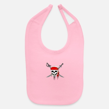 Caribbean Pirates of the Caribbean - Baby Bib