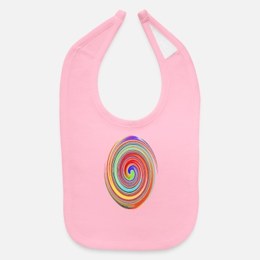 Color Colorful mix of colors - Baby Bib