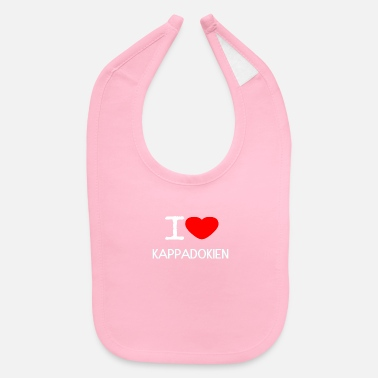 Plaice I LOVE KAPPADOKIEN - Baby Bib