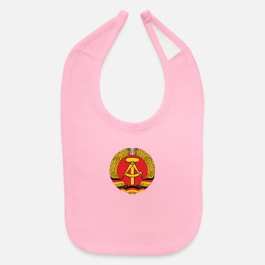 Dictatorship National Coat Of Arms Of East Germany - Baby Bib