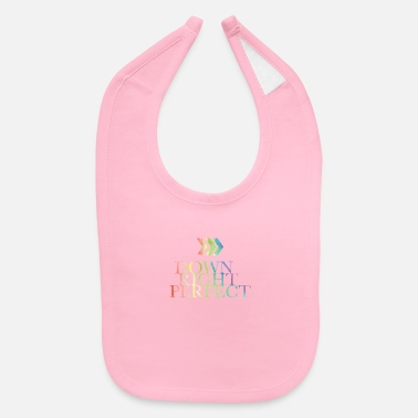 Down Down right perfect - down syndrome - Baby Bib