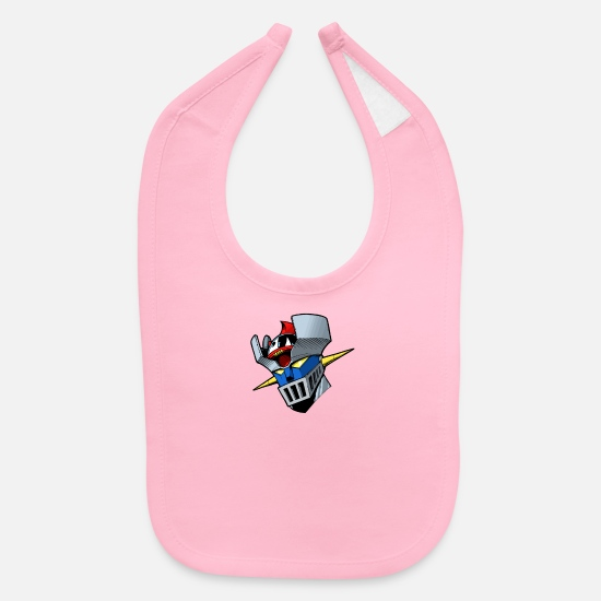 Movie Baby Clothing - King of the Titans - Baby Bib light pink