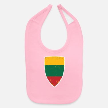 Shield of Lithuania - Baby Bib