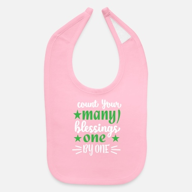 Americana Count your many blessings one by one Perfect Thank - Baby Bib