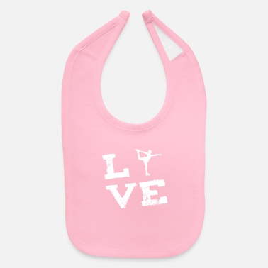 Ice figure skating Ice skating Ice skating Sports Love - Baby Bib