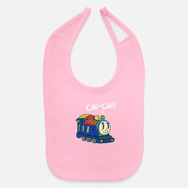 Training Train - Baby Bib