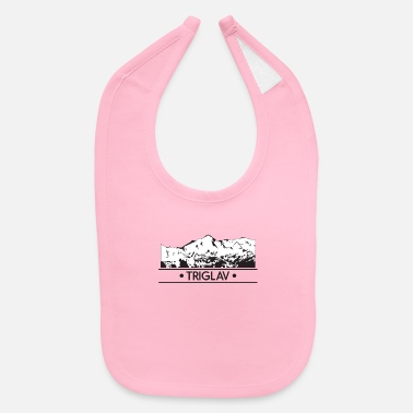 Highest Peak Triglav - Baby Bib