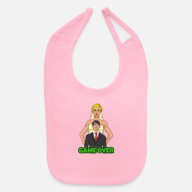 Game Over Mariage Married Woman Game Over - Baby Bib