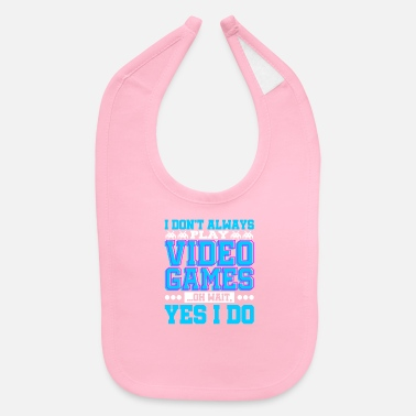 Video Games Video Game - Baby Bib