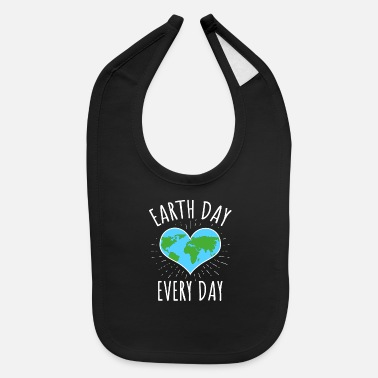 Ecology Earth Day Every Day - Climate Change - Baby Bib