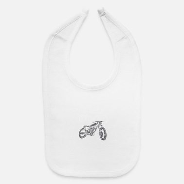 Motorcycle MOTORCYCLE: There Are Motorcycles - Baby Bib