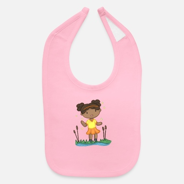 Pond Girl By The Pond - Baby Bib