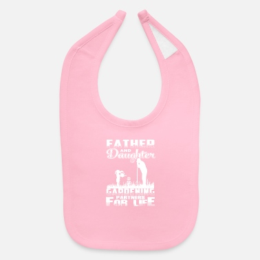 Father And Daughter FATHER AND DAUGHTER GARDENING - Baby Bib