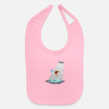Red Sailed Boat Journey - Baby Bib