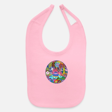 Pond Pond Abstract - Baby Bib