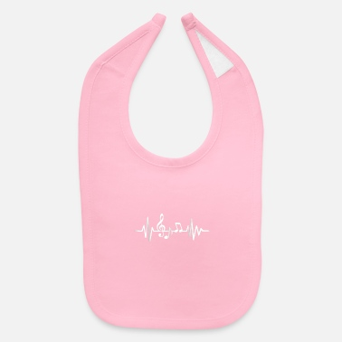Frequency Music frequency - Baby Bib