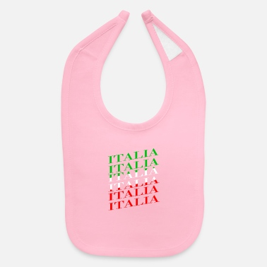 National Color Italy national colors - Baby Bib