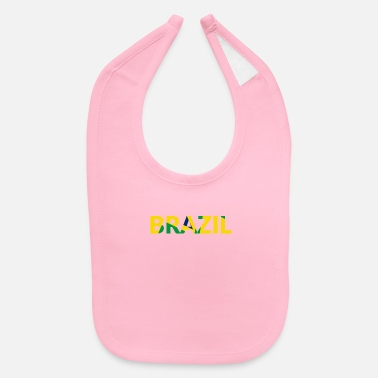 National Color National Colors of Brazil - Baby Bib