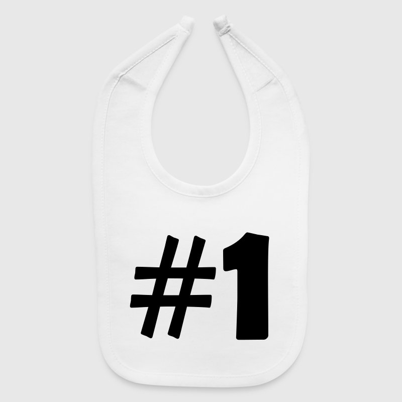 #1 (number one) - Baby Bib