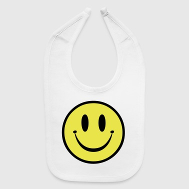 Old Skool Rave Smile - Baby Bib