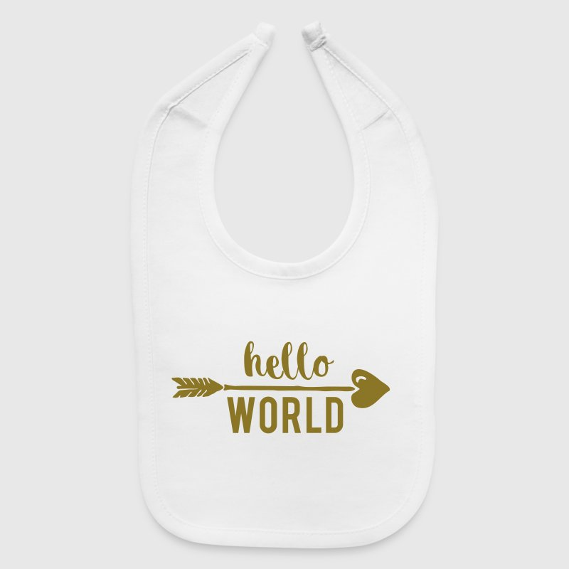 Hello World - Baby Bib