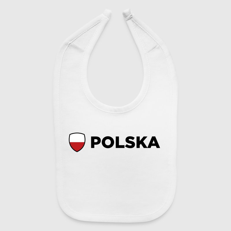 National Flag of Poland - Baby Bib