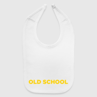 Old School Music - Baby Bib