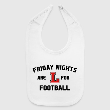 FRIDAY NIGHT FOOTBALL - Baby Bib
