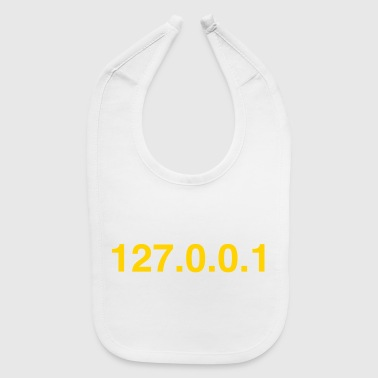 Computer NERD HUMOR: There's No Place Like Localhost - Baby Bib