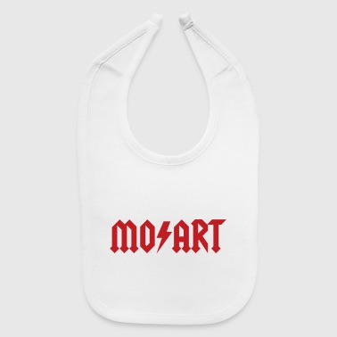 Rock Music Wolfgang Amadeus Mozart - Hard Rock music - Baby Bib