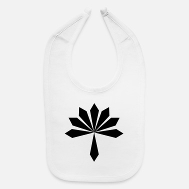 Rock GBIGBO zjebeezjeboo - Rock - Flower [FlexPrint] - Baby Bib