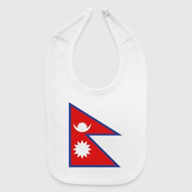 National Flag Of Nepal - Baby Bib