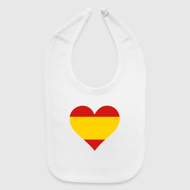 A Heart For Spain - Baby Bib