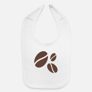 Latte coffee beans - Baby Bib