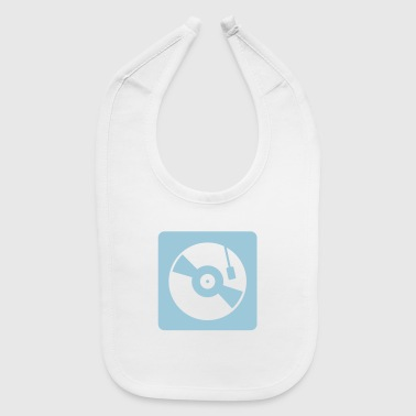 turntable mixer - Baby Bib