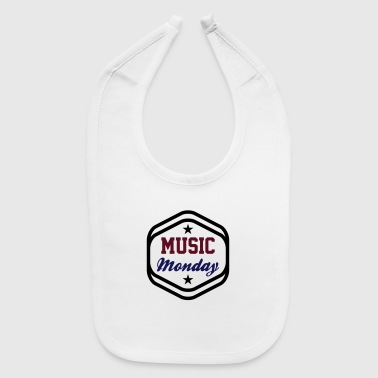 Rock Music Music Monday - Baby Bib