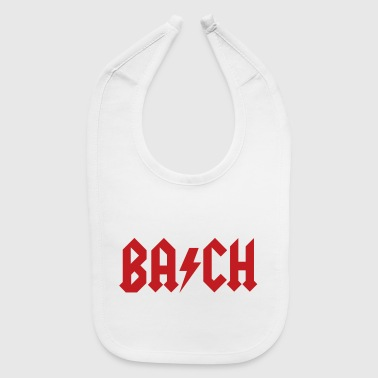 Rock Music Johann Sebastian Bach - Hard Rock Classical Music - Baby Bib