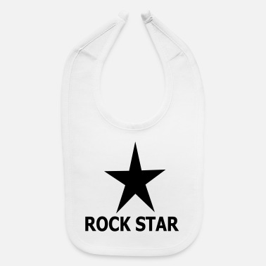 Rock ROCK STAR - Baby Bib