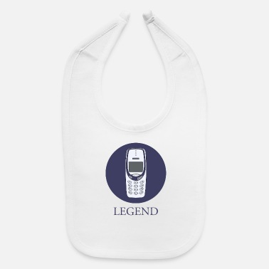 Mobile Phone mobile phone legend - Baby Bib