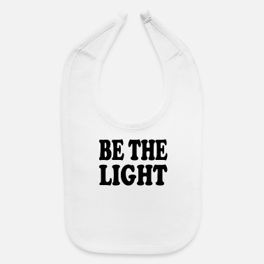 Church Christian Shirts - Be The Light - Christian - Baby Bib