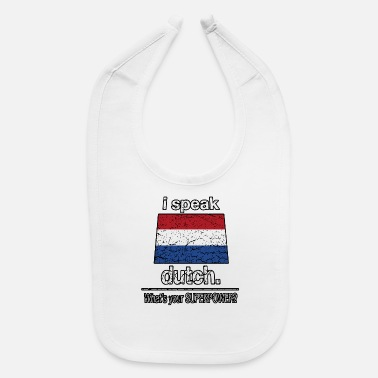 Netherlands Holland Netherlands Language Dutch Funny Country - Baby Bib