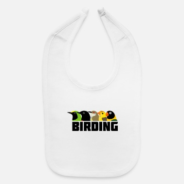 Bird Birding Birds - Baby Bib