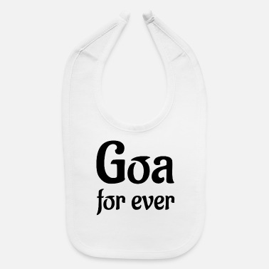 Goa goa for ever - Baby Bib
